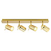 Revive Polished Brass 4 Light Bar Bathroom Spotlight profile small image view 1