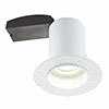 Revive Trimless Fire Rated Downlight - Matt White profile small image view 1