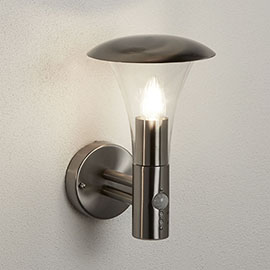 Revive Stainless Steel Porch Light with PIR Sensor