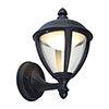 Revive Outdoor Matt Black LED Up Lantern profile small image view 1