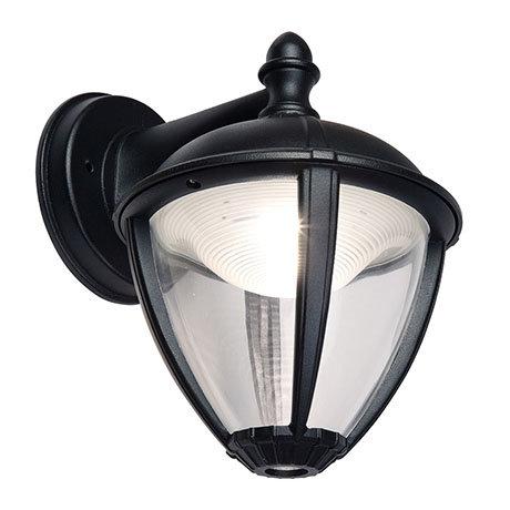Revive Outdoor Matt Black LED Down Lantern