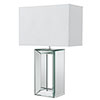 Revive Chrome Mirror Table Lamp profile small image view 1
