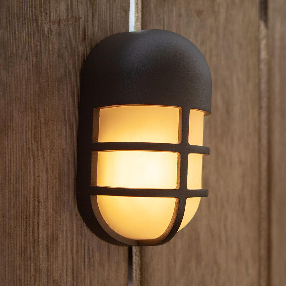 Revive Outdoor Bullseye Dark Grey Wall & Ceiling Light