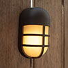 Revive Outdoor Bullseye Dark Grey Wall & Ceiling Light profile small image view 1