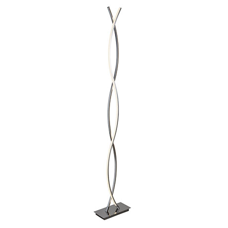 Revive Twin Light Wavy Floor Lamp