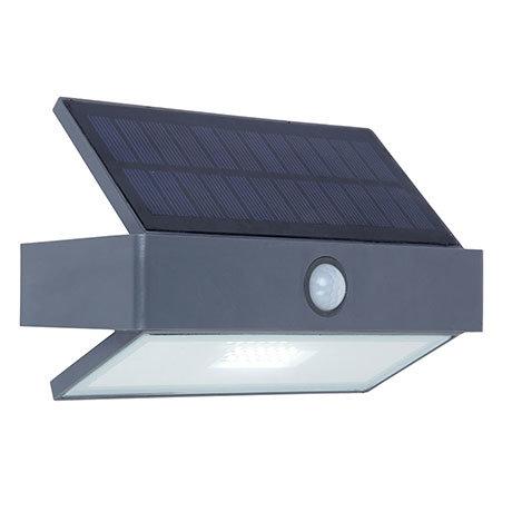 Revive Outdoor Solar PIR Wall Light (W176 x L74 x H109mm)