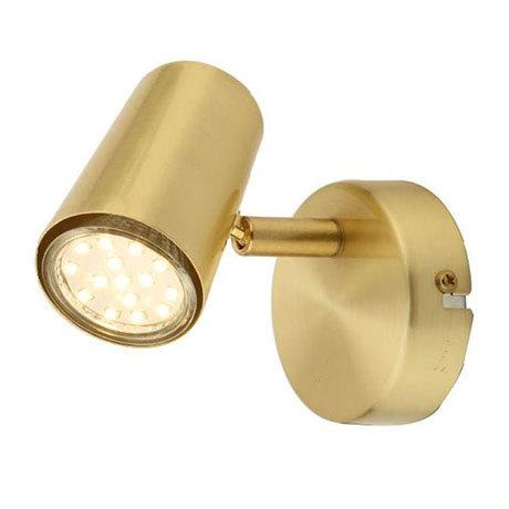 Revive Satin Brass Single Spotlight