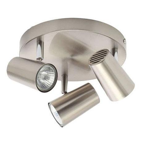 Revive Satin Nickel 3 Light Spotlight