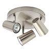 Revive Satin Nickel 3 Light Spotlight profile small image view 1