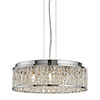 Revive Contemporary Chrome Crystal Chandelier profile small image view 1