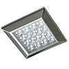 Revive Square Kitchen Under Cabinet Light - Stainless Steel profile small image view 1