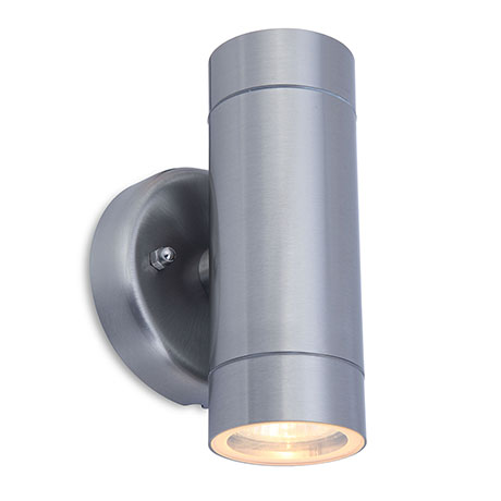 Revive Outdoor Modern Stainless Steel Up & Down Wall Light