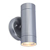 Revive Outdoor Modern Stainless Steel Up & Down Wall Light profile small image view 1