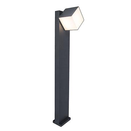 Revive Outdoor Rotatable Dark Grey Bollard Light