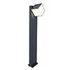 Revive Outdoor Rotatable Dark Grey Bollard Light profile small image view 1