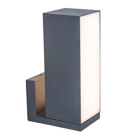 Revive Smart Outdoor Rotatable Dark Grey Wall Light