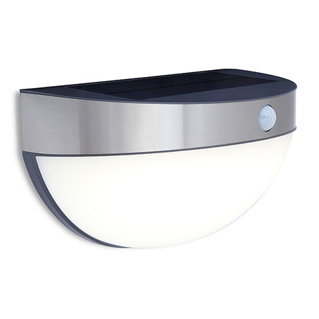 Revive Outdoor Solar PIR Wall Light (W218 x L125 x H126mm)