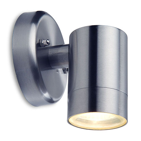 Revive Outdoor Modern Stainless Steel Wall Down Light