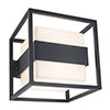 Revive Outdoor Cube Dark Grey Wall Light profile small image view 1