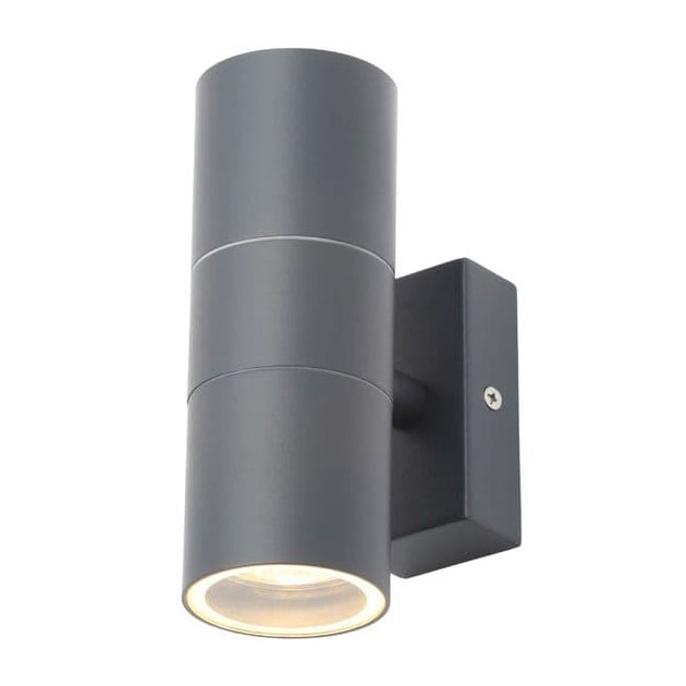 Revive Outdoor Anthracite Grey Up & Down Wall Light