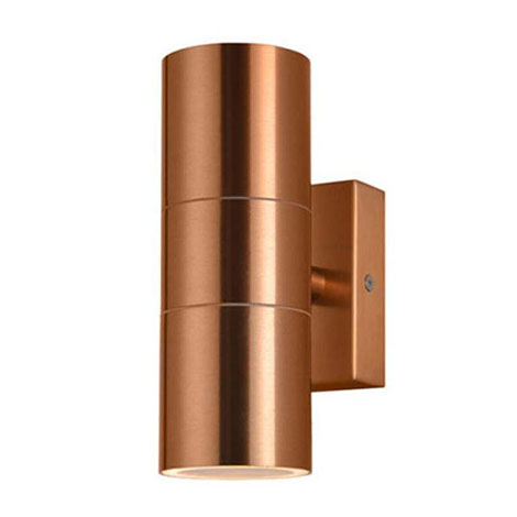 Revive Outdoor Copper Up & Down Wall Light