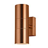 Revive Outdoor Copper Up & Down Wall Light profile small image view 1