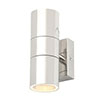 Revive Outdoor Polished Stainless Steel Up & Down Wall Light profile small image view 1