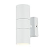 Revive Outdoor Textured White Up & Down Wall Light profile small image view 1