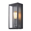 Revive Outdoor Anthracite Box Lantern profile small image view 1
