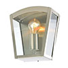 Revive Outdoor Stainless Steel Curved Top Box Lantern profile small image view 1