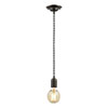 Revive Black Braided Cable Pendant Light profile small image view 1