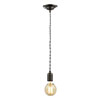 Revive Grey Braided Cable Pendant Light profile small image view 1