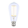 Revive B22 LED Filament Bayonet Bulb - Clear Glass profile small image view 1