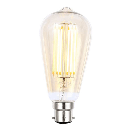 Revive Vintage BC LED Amber Glass Squirrel Lamp