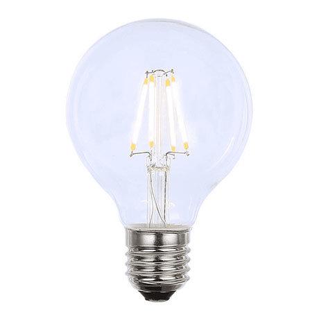 Revive Vintage E27 LED Filament Clear Glass Globe Lamp