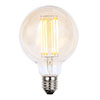 Revive Large E27 LED Filament Globe Bulb - Amber Glass profile small image view 1