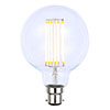 Revive LED Filament Globe Bulb Bayonet - Clear Glass profile small image view 1