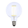Revive Large E27 LED Filament Globe Bulb - Clear Glass profile small image view 1