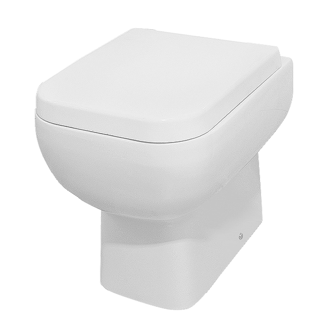 Rak Series 600 Back to Wall BTW Toilet with Soft Close Seat Large Image