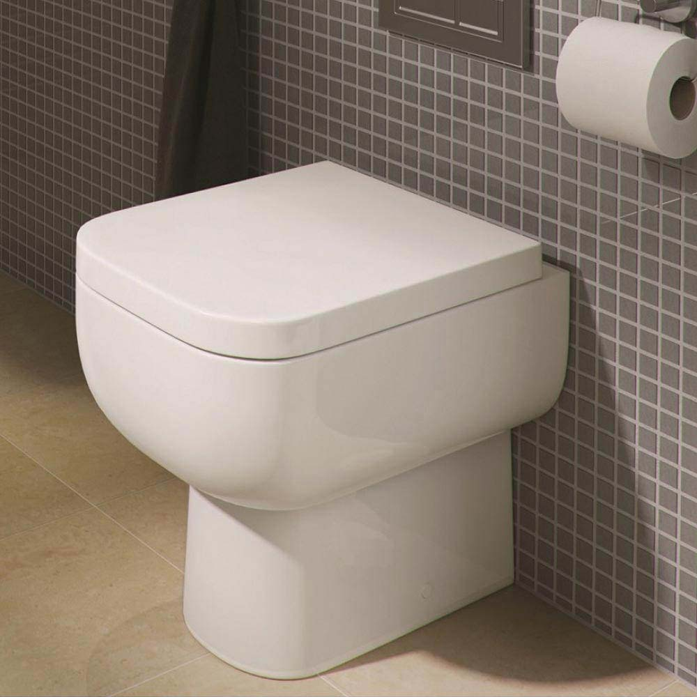 Rak Series 600 Back to Wall BTW Toilet with Soft Close Seat profile large image view 2