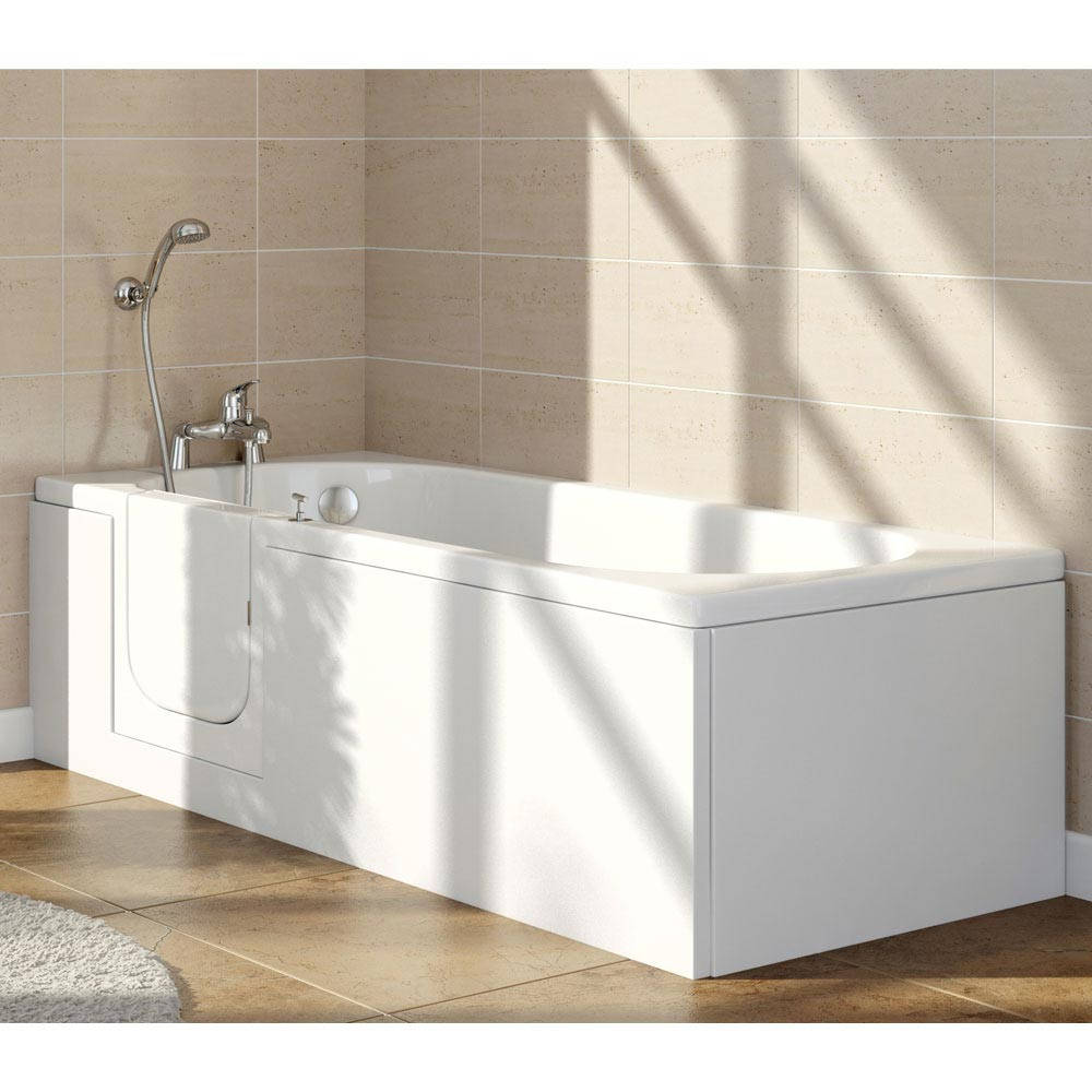 Ramsden Easy Access Bath + Front Panel (1700x700mm) profile large image view 1