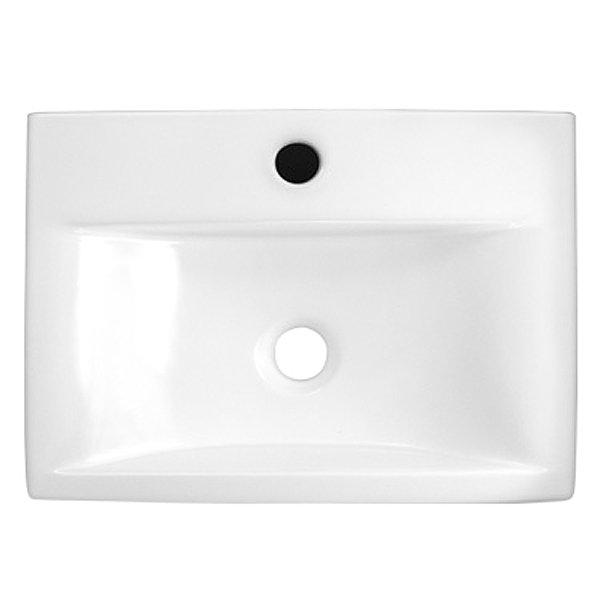 Rectangular Counter Top Ceramic Basin - 450 x 320mm profile large image view 2