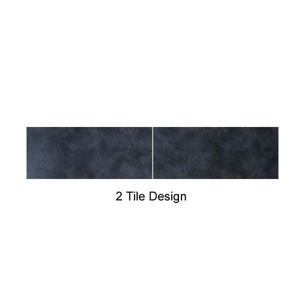 Mere Reef Interlock 2 Tile Effect Wall Panels (Pack of 8) - Urban Dark  Feature Large Image
