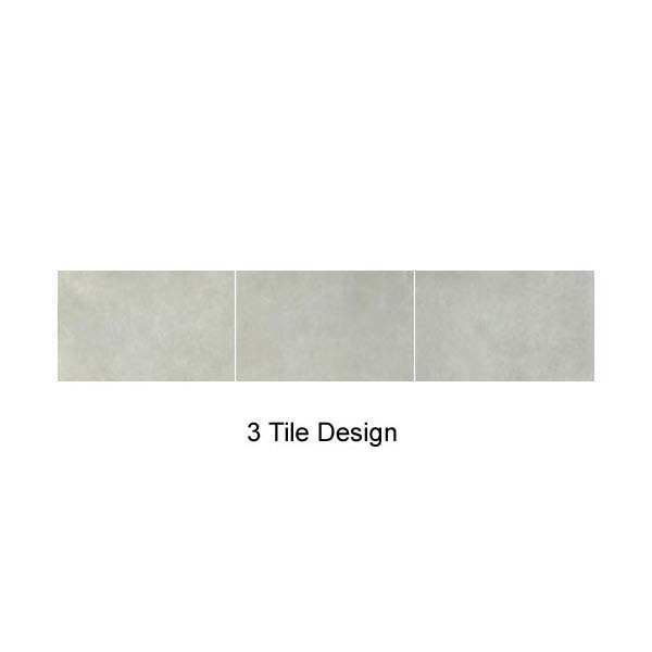 Mere Reef Interlock 3 Tile Effect Wall Panels (Pack of 8) - Light Grey Stone profile large image view 3