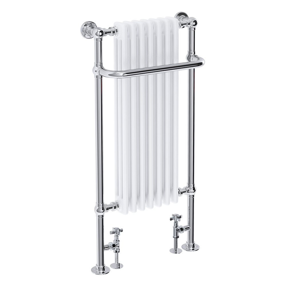 Fairport Traditional Towel Rail Radiator (1130 x 553mm) Large Image