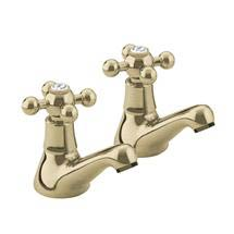 Bristan - Regency Basin Taps - Gold Plated - R-1/2-G Medium Image