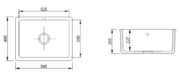 Kitchen Sink Dimensions View Detailed Images 12 Zeta 215 Double