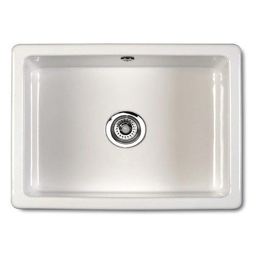 Reginox Inset Classic Ceramic Kitchen Sink profile large image view 1