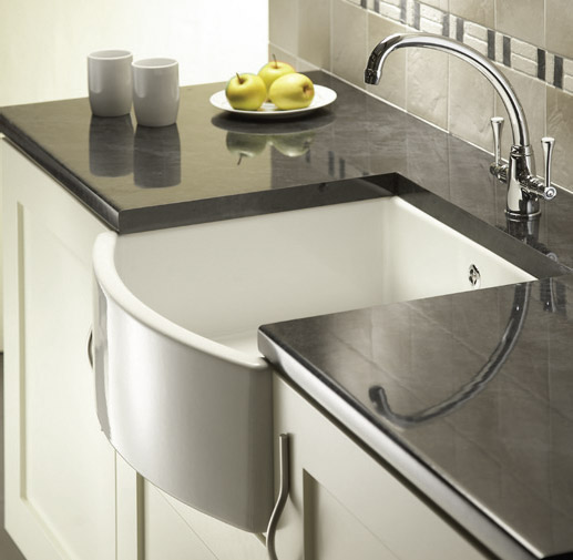 Reginox - Waterside classic ceramic kitchen sink Profile Large Image