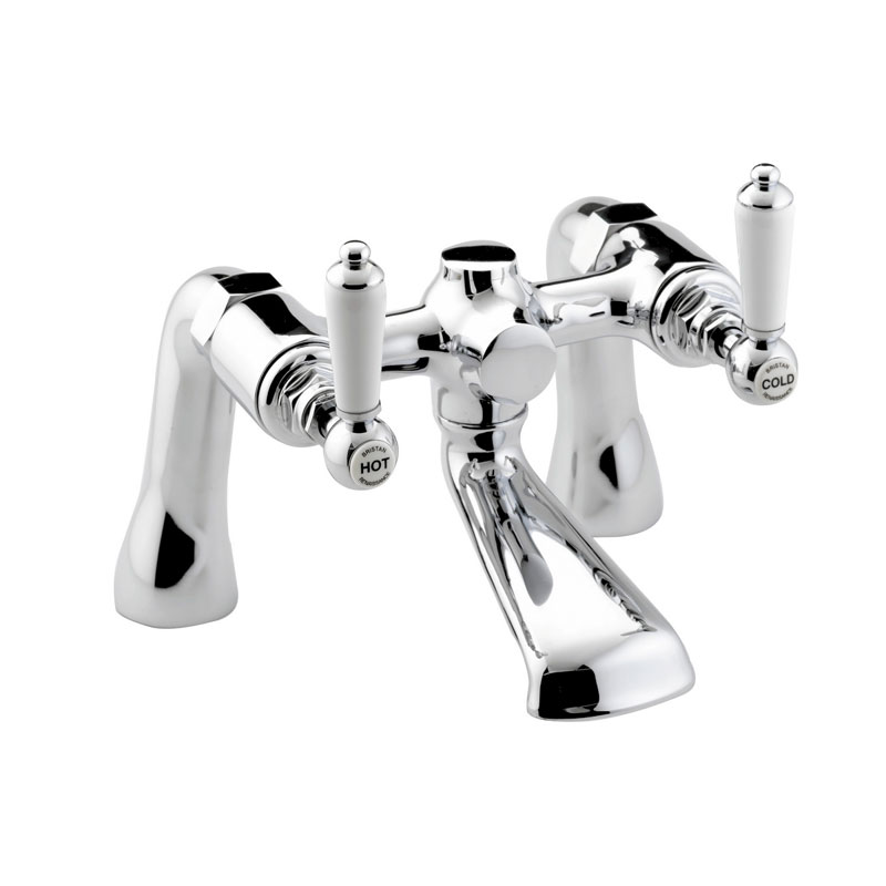 Bristan Renaissance Traditional Bath Filler - Chrome Plated - RS-BF-C Large Image